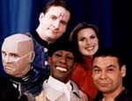 Entire Red Dwarf Crew